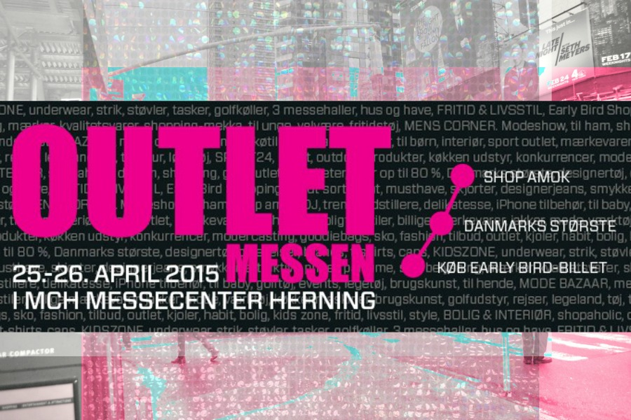 9b8740cade7 Give away / billetter til Outletmesse