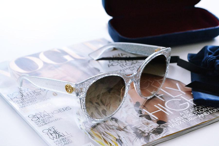 gucci glimmer solbriller