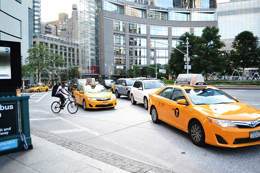 yellow cab columbus circle