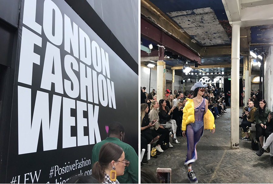 London Fashionweek ss19